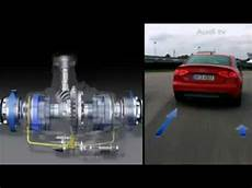 audi the new active sport differential in audi s4 youtube