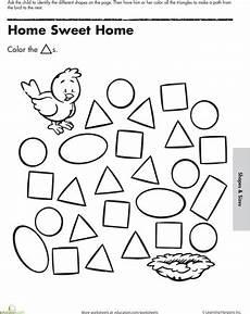 shape maze worksheet 1194 a maze ing shapes follow the triangles maze worksheet preschool homework triangle worksheet