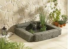 fontaine de terrasse fontaine broceliande bassin de terrasse pompe