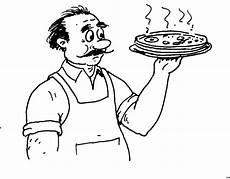 Malvorlagen Weihnachten Chefkoch Pizza Mit Chefkoch Ausmalbild Malvorlage Essen Und Trinken