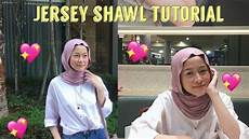Jersey Shawl Tutorial No Pins