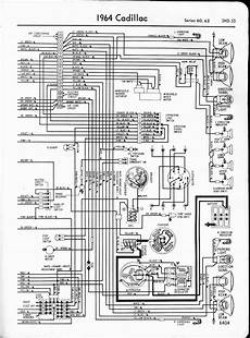 Cadillac Wiring Diagrams 1957 1965
