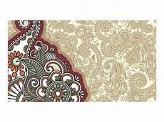 Gambar Batik Vektor Hitam Putih Gambar Batik Sederhana