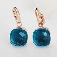 pomellato nudo replica pomellato nudo earrings replica in gold with