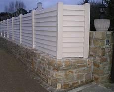 palissade en pvc jardin bodonnoupaysages fr palissade portail