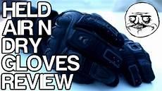 held air n motorcycle gloves review