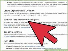 how to create an email survey 5 steps with pictures wikihow