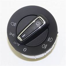 oem auto chrome light switch for golf mk7 gti