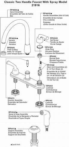 kitchen faucet diagram kitchen faucet parts delta wow
