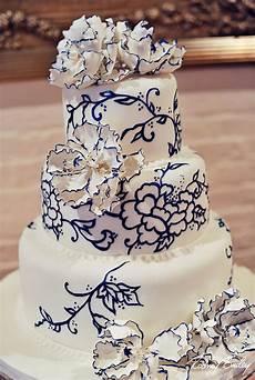 navy wedding cake decorations wedding ideas by colour chwv