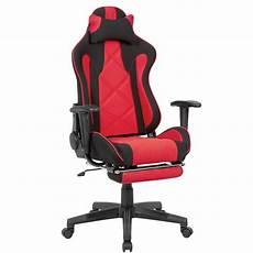 gaming schreibtischstuhl gaming schreibtischstuhl bezug stoff schwarz rot online kaufen