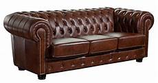 sofa leder braun mansfield sofagarnitur chesterfield couchgarnitur sofa
