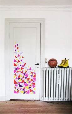 To Decorate Your Bedroom Door by 37 Diy Washi Decorating Projects You Will