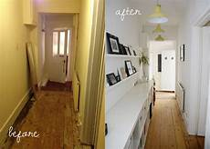our before and after hallway makeover modern maggie
