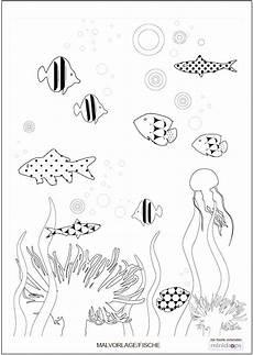Malvorlagen Unterwasser Tiere Malvorlage Unterwasserwelt Minidrops