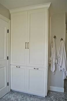 bathroom linen cabinet plans the cape cod ranch renovation master bathroom