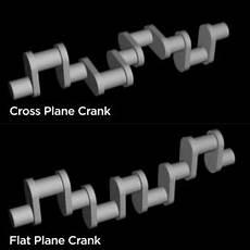 Mustang Flat Plane Crank