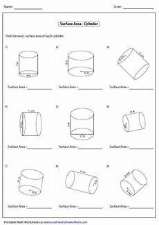 surface area and volume worksheet homeschooldressage com