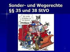 Ppt Sonder Und Wegerechte 167 167 35 Und 38 Stvo Powerpoint