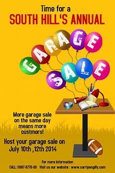 design garage garagen als copy of garage sale template postermywall
