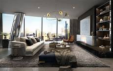 an intricate luxury apartment in the city of crown residences one barangaroo frank exclusive view
