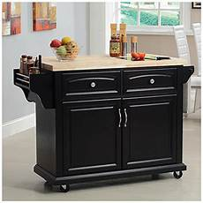 Big Lots Kitchen Furniture View Curved Door Kitchen Cart With Granite Insert Deals At