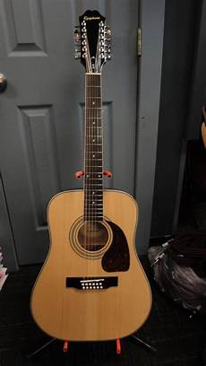 epiphone 12 string guitar epiphone dr 212 12 string guitar mcquade musical instruments