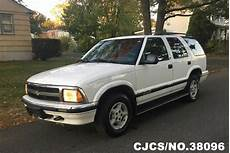automobile air conditioning service 1996 chevrolet blazer windshield wipe control 1996 left hand chevrolet blazer white for sale stock no 38096 left hand used cars exporter