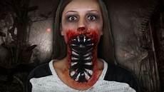 maquillage facile qui fait peur maquillage monstre