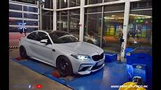 bmw m2 competition f87 stage 2 585hp 430kw 690nm powered by profituning dynotest youtube