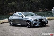 2016 Mercedes E 200 Amg Line Review Performancedrive