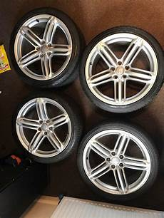 4 genuine audi s line 19 inch alloy wheels with tyres