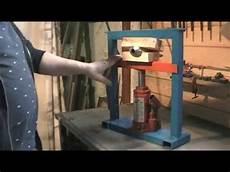 Construction D Une Presse Hydraulique 5 Tonnes Kastepat