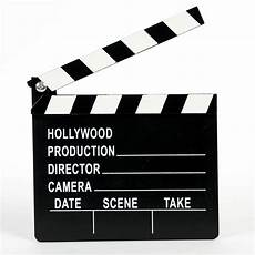 Director Clapperboard by Professional Director Clap Board Slate Cut Prop