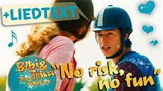 bibi tina no risk no official musikvideo mit