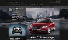 Audi Launches Microsite For Ad Caign Marketing