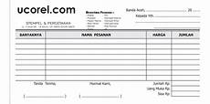 contoh nota bon kosong format cdr tempatnya download apa