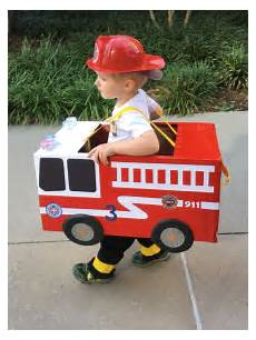 Costume For Cars by Toddler Preschool Boy Fireman Truck Costume