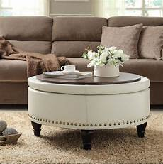 white ottoman coffee table furniture roy home design