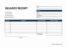 customer receipt template excel delivery receipt template 187 exceltemplates org