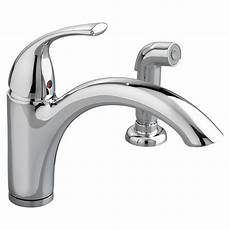 Faucet With Side Spray by Quince 1 Handle Kitchen Faucet With Side Spray American