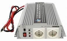 hq 174 kfz wechselrichter spannungswandler 12v auf 230v max