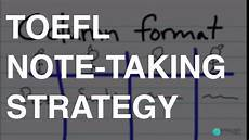 toeic note max toefl note taking strategy