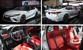 2019 Toyota Camry White With Red Interior  Cars