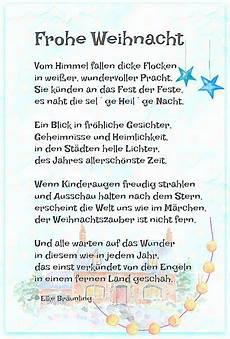 frohe weihnacht spr 252 che frohe weihnacht gedicht