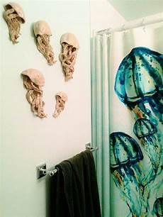 malvorlagen quallen aus quallen keramik wandskulptur set aus 3 kunstinstallation