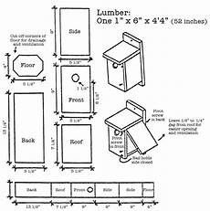 easy bluebird house plans bluebird house plans garden pinterest
