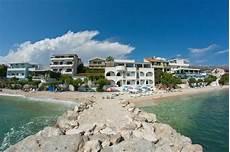 kroatien sandstrand cing ferienwohnung villa tamaris podstrana