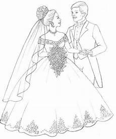 Malvorlage Prinzessin Hochzeit контуры пары In 2020 Hochzeit Malvorlagen Malvorlagen