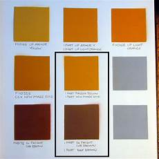 dan d sparks niles project yellow and brown paint for 107